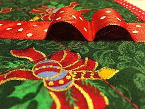 Úžitkový textil - sada prestierok - vianočná - 10131209_