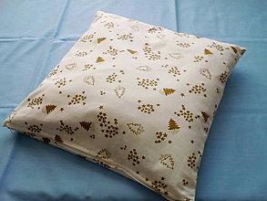 Úžitkový textil - Vankúš s vianočnou tematikou - 10128999_