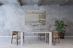 Obrazy - NABETON - betonový obraz s cínovo - zlatým leskom - 10131590_