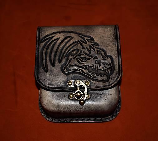 c9dddd099 Kožená kapsička na opasok ,drak / horvatdesign - SAShE.sk - Handmade ...
