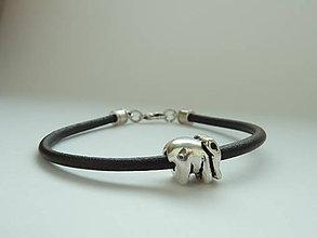 Náramky - náramek ... simply sloník pro štěstí - 10130014_
