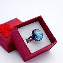 Prstene - Sklenený prsteň