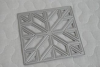 Pomôcky/Nástroje - Vyrezávacia šablóna - patchwork - 10130251_