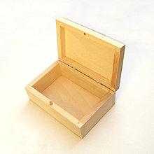 Obalový materiál - Drevená krabička - 10129196_