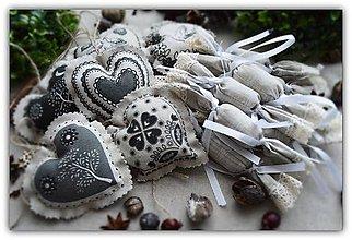 Dekorácie - Vianočné ozdoby - sada č.16 - 10133076_