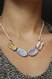 Náhrdelníky - náhrdelník Venček - 10133133_