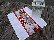 Úžitkový textil - Prestieranie Merry Christmas - 10133686_
