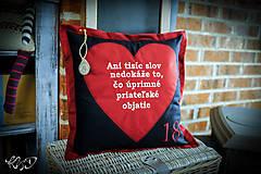 Úžitkový textil - Vankúšik pre naj kamošku :-) - 10136048_