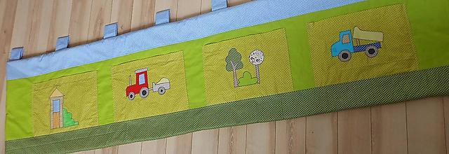 Úžitkový textil - Zástena *Farmár* - 10134644_