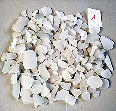 Suroviny - Plážové sklo Ibiza - 10132904_