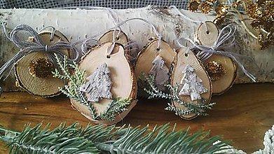 Dekorácie - Vianočná prírodná sada - na prechádzke mrazivou tatranskou lúkou:-) - 10133207_