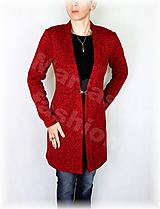 Svetre/Pulóvre - Kabátek kovové zapínání-svetrovina(více barev) - 10134153_