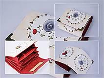 Peňaženky - Malá peňaženka Birds - 10136701_