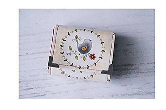 Peňaženky - Malá peňaženka Birds - 10136700_