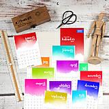 Papiernictvo - MADEBOOK - kalendár 2019 - 10132829_