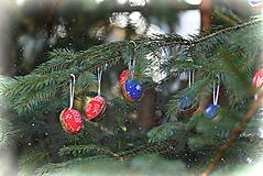 Dekorácie - Ozdoby na stromček - oriešok - 10135686_