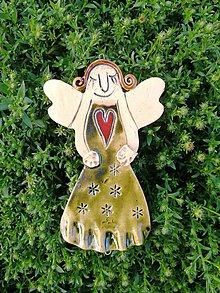 Dekorácie - Anjelik č.6 - 10132994_