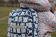 Detské tašky - Detský ruksak srnka, medveď, líška - 10135457_