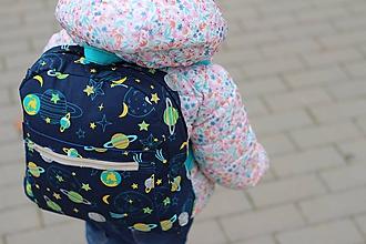 Detské tašky - Detský ruksak planéty - 10135433_
