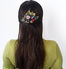 Ozdoby do vlasov - Hrebienok plný lesných plodov ''Berries II'' - 10136852_