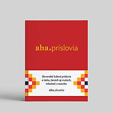 Knihy - aha, príslovia - 10134892_