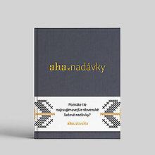 Knihy - aha, nadávky - 10134970_