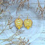 Náušnice - Oriental n.26 - sutaškové náušnice - 10133398_