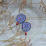 Náušnice - Oriental n.28 - sutaškové náušnice - 10133412_