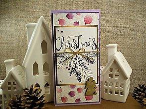 Papiernictvo - Pastelové Vianoce pohľadnica - 10134724_