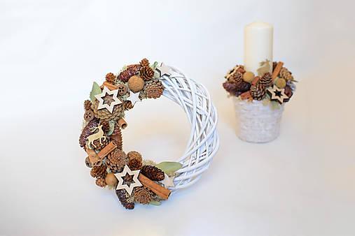 37709dc5c Vianočný veniec na dvere / KateCreative-gfd - SAShE.sk - Handmade ...