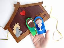 Betlehem s bábkami na prsty (mini sada)