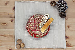 Nádoby - Dezertný tanier - ľudová kolekcia - 10136525_