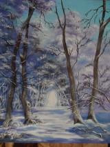 Obrazy - Kúzlenie zimy - 10134165_