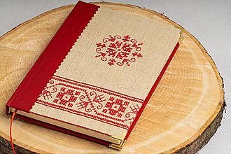 Papiernictvo - Zápisník s výšivkou