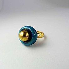 Prstene - Tana šperky - keramika/zlato - 10132752_