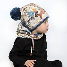 Detské čiapky - Originálny set UNI veľkosť - 10136998_