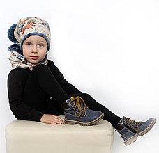 Detské čiapky - Originálny set - 10136999_