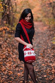 Batohy - Batoh s vianočným motívom - 10133245_