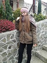 Ozdoby do vlasov - Steroružová čelenka - 10134901_