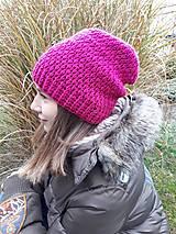 Čiapky - Háčkovaná čiapka, homeleska, pre ženu/dievča - 10135241_