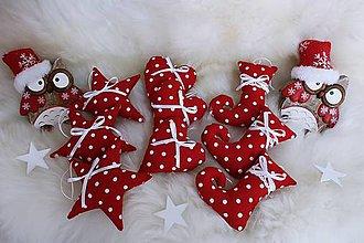 Dekorácie - Sada vianočných ozdôb .. - 10135059_