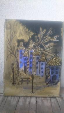 Obrazy - Nočné mesto - 10133156_