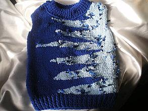 Detské oblečenie - chlapčenská vestička - 10132432_