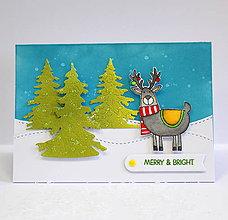 Papiernictvo - Vianočná pohľadnica - 10135183_