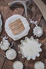 Svietidlá a sviečky - Sójová sviečka vo vintage forme - rôzne vône - 10134946_