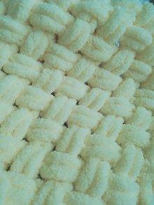 Textil - Detská deka (Žltá) - 10133442_