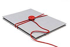 Knihy - Minifotokniha Leporelo Grey 13 x 18 - 10132524_