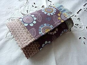 Peňaženky - Peňaženka - Kvety - 10133356_