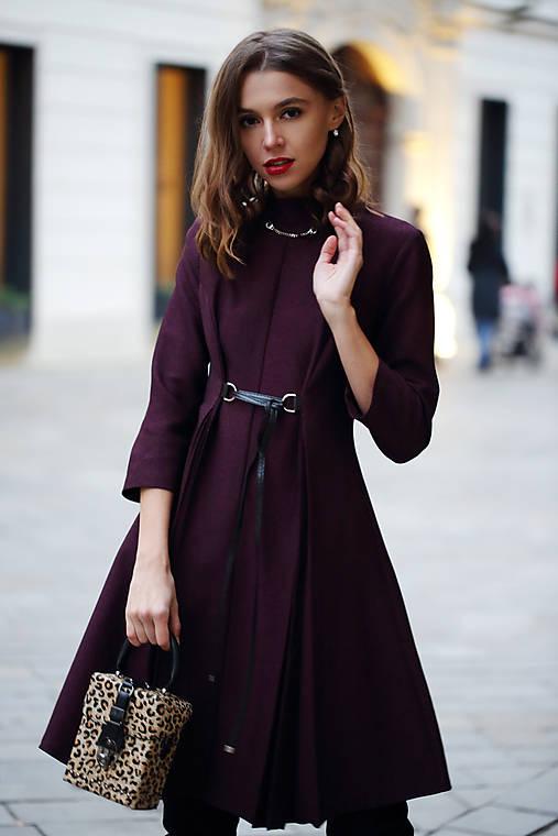 Šaty - Vlnené šaty Marry - 10139526_