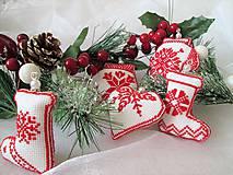 Dekorácie - Vianočné drobnosti - 10137256_
